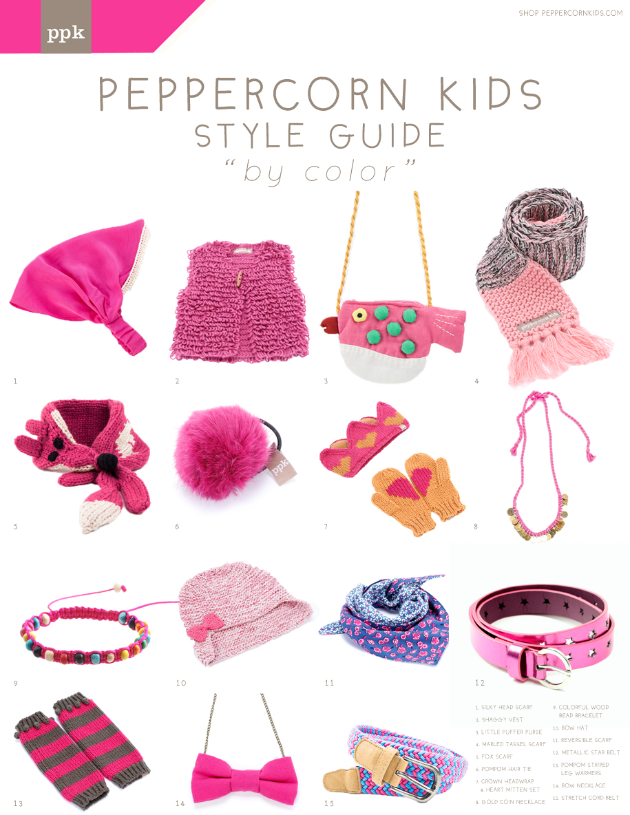 In The Color World Pink Is Rock Star Here At Peppercorn Kids We Love Accessorizing With All Things Check Out Our Picks For Holiday Gifts