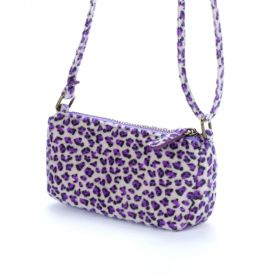 girls leopard print purse