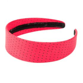 girls Polka-Dot Headband - Candy Apple