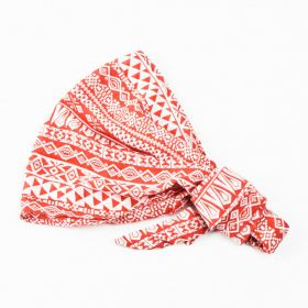 girls Tribal Bandana Headwrap - Red