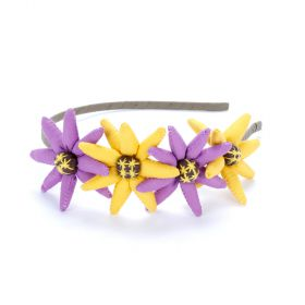 girls flower bouquet headband