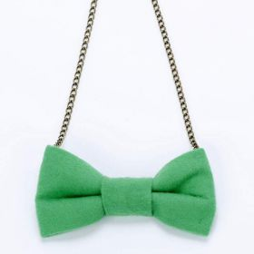 Girls bow necklace
