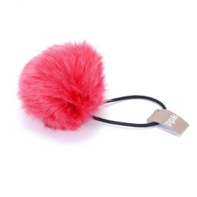 girls Pompom Hair Tie