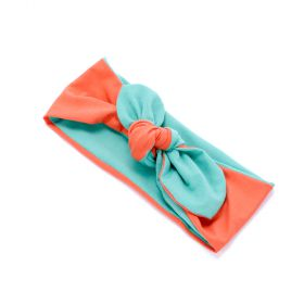 girls Two-Tone Reversible Headwrap