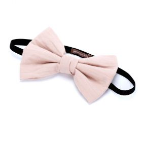 Girls Bow Headband - Taupe