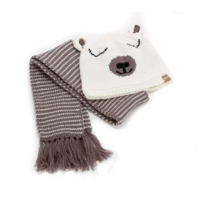 girls Polar Bear Beanie