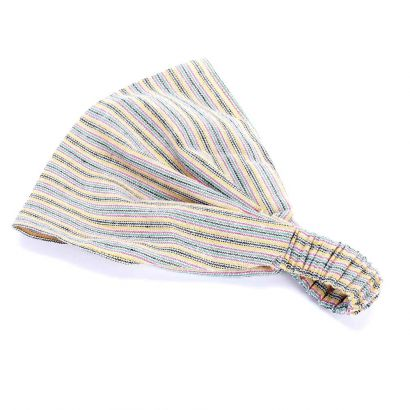 girls Striped Bandana Headwrap